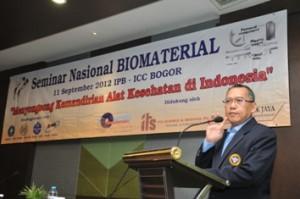 Seminar Nasional Biomaterial tahun 2012