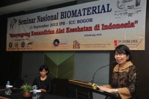 Seminar Nasional biomaterial I tahun 2012