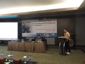 "National Workshop ""Initiation & Development of Biomaterials Research in Indonesia"" IICC Bogor 2013"